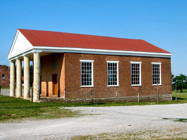 Bracken Baptist Church building
